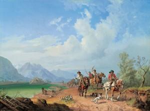 Treidler am Inn ⋅ 1843 Image