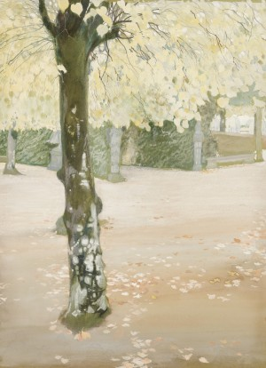 Herbst im Park ⋅ um 1905 Image