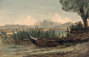 Am Ufer der Fraueninsel ⋅ um 1850/55 Image