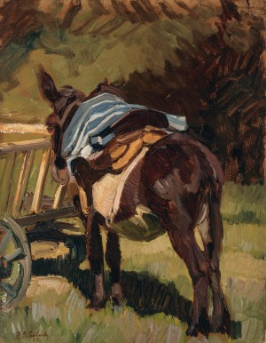 Esel ⋅ um 1924  Image