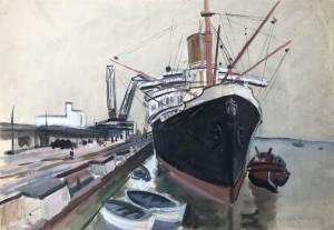 "Passagierschiff ""Europa"" ⋅ 1934 Image"