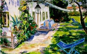 Haus in der Sonne (Feldwies) ⋅ um 1950 Image