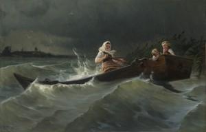 Stürmische Überfahrt ⋅ um 1890 Image