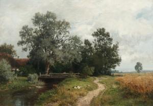 Sommer im Dachauer Land ⋅ 1895 Image