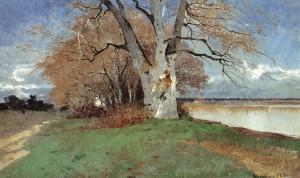 Herbst auf Herrenchiemsee ⋅ 1894 Image