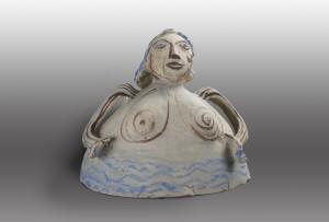 Edda, badend im Chiemsee ⋅ um 1992 Image