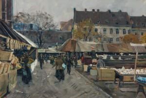 München - Auer Dult ⋅ um 1919 Image