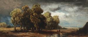 Allee im Sturm ⋅ um 1860 Image