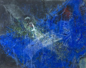Komposition in Blau ⋅ um 2005 Image