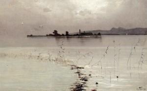 Chiemseemorgen ⋅ um 1900 Image