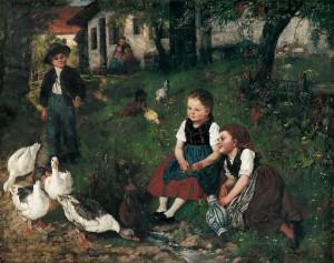 Sommertag ⋅ um 1881/82 Image
