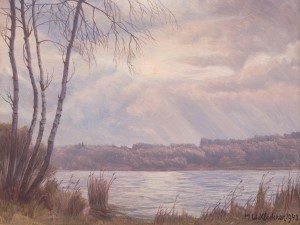 Simssee-Abend ⋅ 1943 Image