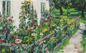 Hausgarten (Feldwies) ⋅ um 1940 Image