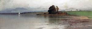 Stiller Tag (Chiemsee) ⋅ um 1900 Image