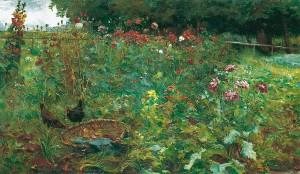 Garten auf der Fraueninsel ⋅ 1896 Image