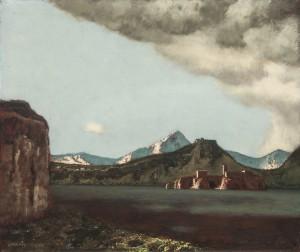 Schirokko am Gardasee ⋅ 1947 Image
