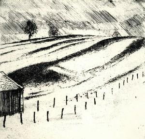 Verschneites Feld ⋅ 1981 Image