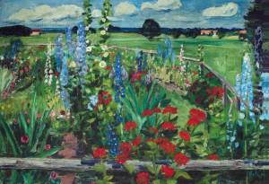 Bauerngarten ⋅ um 1938 Image