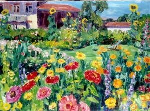 Sommerlicher Garten ⋅ um 1945 Image