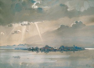 Durchbrechende Sonne ⋅ um 1924 Image
