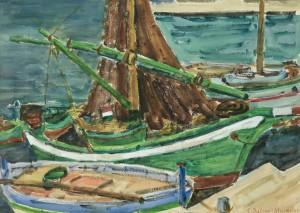 Fischerboote ⋅ um 1960 Image