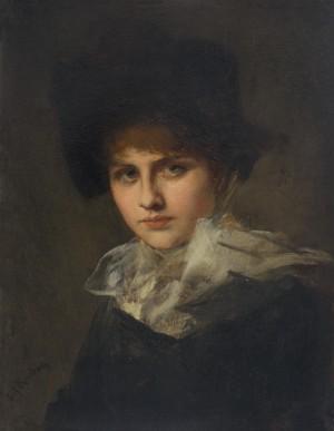 Damenbildnis ⋅ um 1883/85 Image