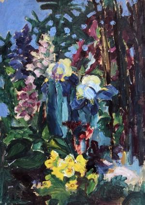 Gartenblumen ⋅ um 1950 Image