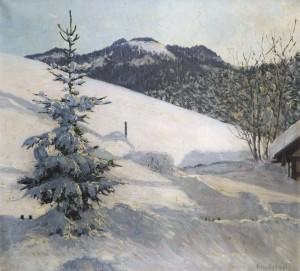 Winter in den Bergen ⋅ um 1920 Image