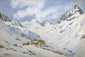 Jamtalhütte in der Silvretta Image