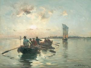 Fischerboote ⋅ um 1910 Image