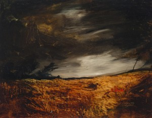 Gewitter über dem Moor ⋅ um 1945 Image