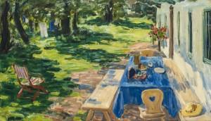 Sommer am Haus ⋅ um 1940 Image