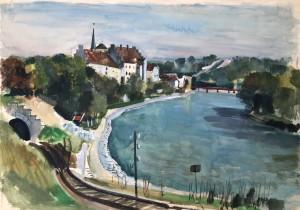 Wasserburg am Inn - mit Innberge Image