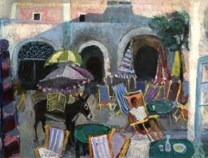 Piazza in Sant' Angelo, Ischia ⋅ 1963 Image