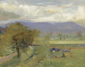 Landschaft bei Berbling Image