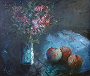 Stillleben mit Äpfeln ⋅ um 1955/60 Image