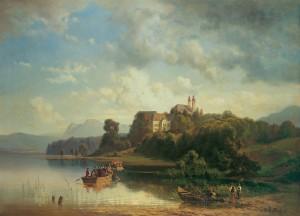 Herrenwörth im 18. Jahrhundert ⋅ um 1875 Image