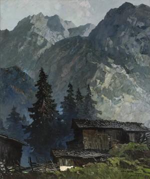 Hochleger am Bergwald ⋅ um 1938 Image