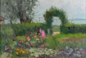 Inselgarten ⋅ um 1985 Image