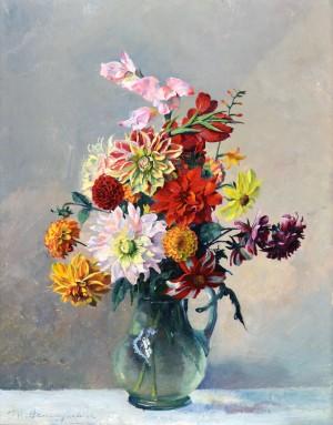 Sommerblumenstrauß ⋅ um 1930 Image