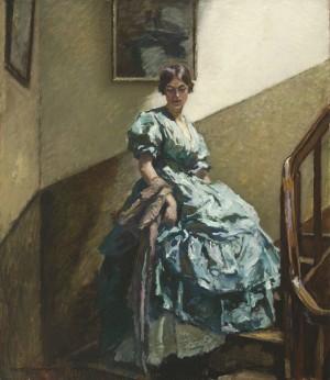Auf der Treppe ⋅ um 1920 Image
