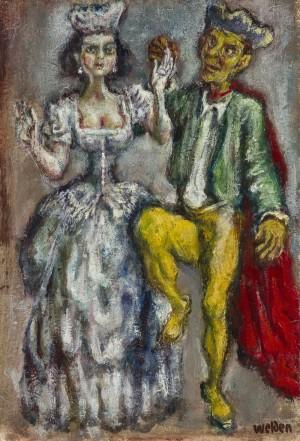 Elegantes Tanzpaar ⋅ um 1945 Image