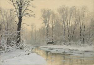 Winterdämmerung ⋅ um 1900 Image