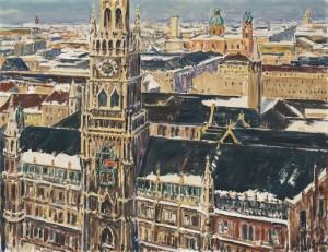 Blick auf München ⋅ 1958 Image