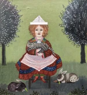 """Laura"", 2 Jahre alt ⋅ 1980 Image"