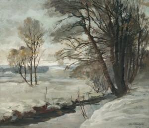 Winterlandschaft ⋅ um 1925 Image