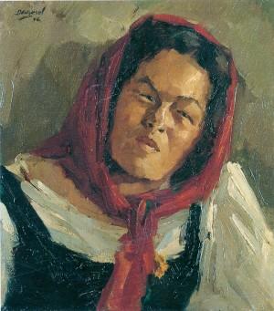 Insulanerin (Katl Kirchner-Klampfleuthner von der Fraueninsel) ⋅ 1946 Image