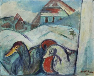 Enten in Winterlandschaft ⋅ 1961 Image