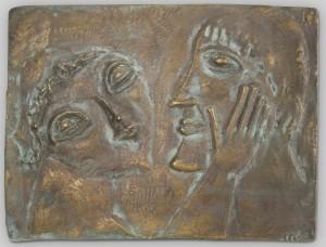 Zärtliches Paar (Relief) ⋅ 1965 Image