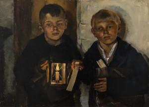 """""""Die Klöpfelnacht"""" ⋅ 1933 Image"""